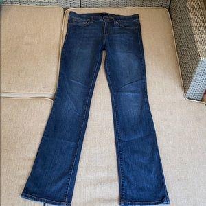 "Joe's Jeans size 30 mini bootcut 34"" ins tall long"
